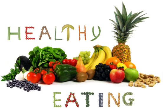 Healthy eating provides more regular physical and spiritual