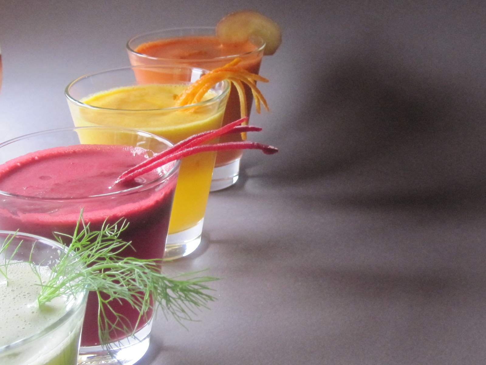 how to make healthy fruit drinks