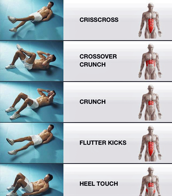 5 Exercises for Tightening Different Muscles in Your ...